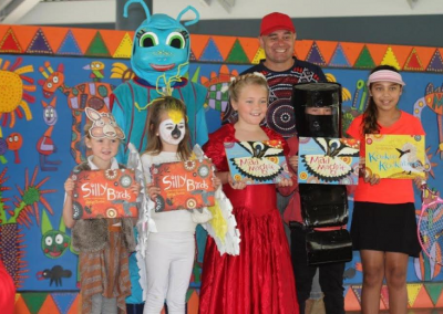 Mitchell State School Paint the Town Read Winners