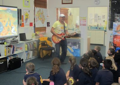 Storytelling with guitars